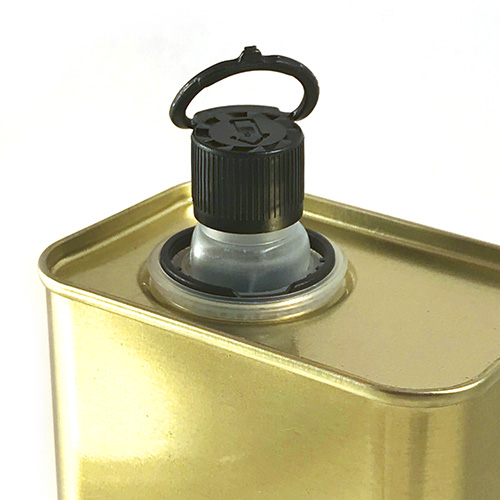 Metal Container for Olive Oil